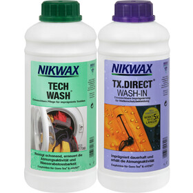 Nikwax Tech Wash + TX.Direct Wash-In 2 x 1 l colourful